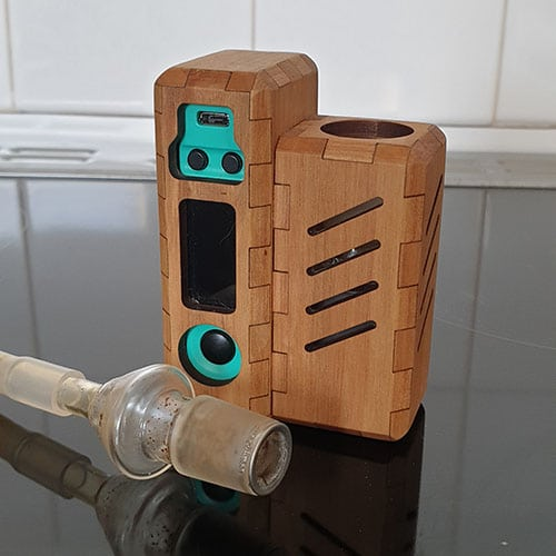 18MM WHIP ATTACHMENT WITH THE TUBO EVIC VAPORIZER
