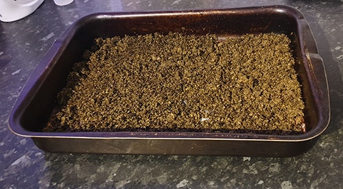AVB IN THE TRAY TO DRY