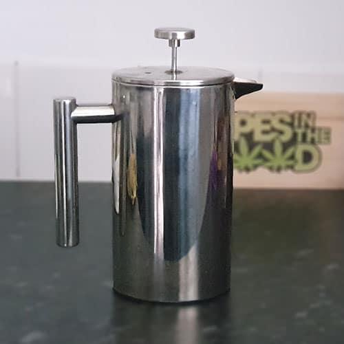 COFFEE POT PRESSED AVB DOWN