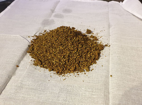 SPREAD AVB ON THE CHEESECLOTH