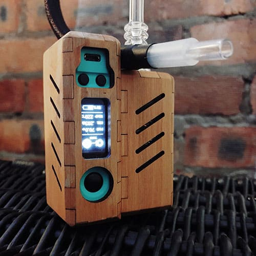SAFER VAPING WITH THE TUBO EVIC