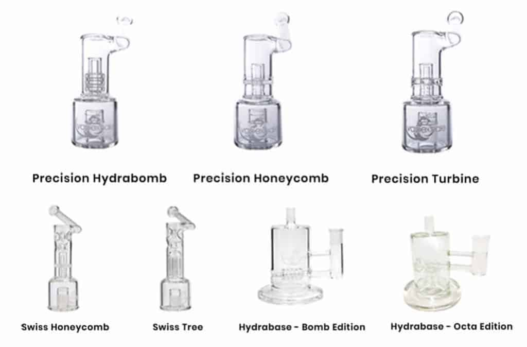 DIFFERENT VAPEXHALE HYDRATUBES 1