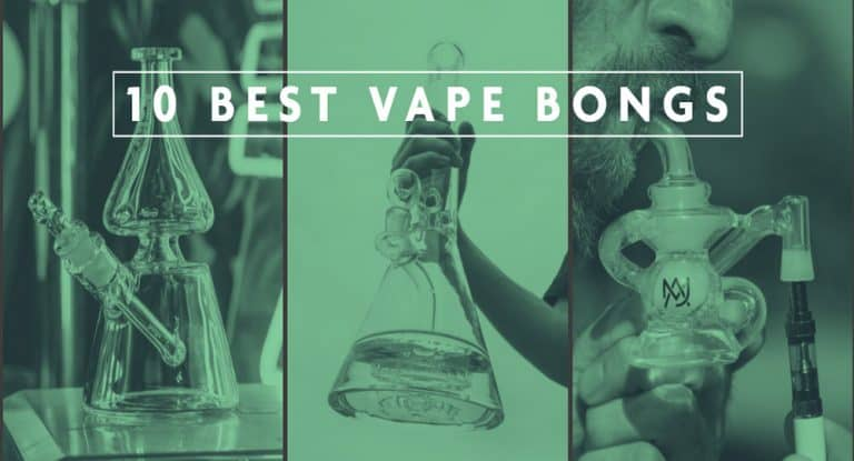 10 BONGS YOU CAN USE WITH YOUR WEED VAPORIZER PEN